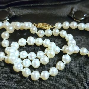 "Jewelry - 14kt 5mm Cultured Pearl 18"" Necklace"